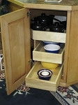 Angle Corner 2 Drawer Cookware Module 31