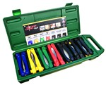 Pocket Chisel Kit (1/4', 1/2', 3/4' and 1' Pocket Chisels, Diamond Sharpener, Combo Putty Knife and Putty Knife) each
