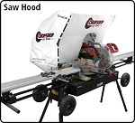 Chopshop Saw Hood-White-each