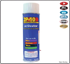 2P-10 Adhesive Activator-per 3.5 oz. can