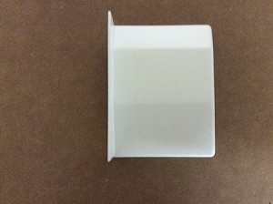Cover White, Right (for Hanging Bracket, Base Unit)