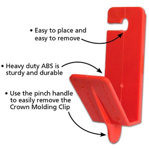 Crown Molding Clip (4pc)