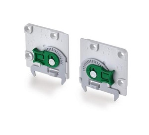 Grass DynaPro Adjustment Adapter, LEFT, steel (each)
