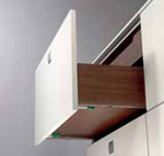 Dynamic NT 457mm (18') Full Extension Drawer Guide with  SOFT-CLOSE for 16mm (5/8') drawer material-each (must be ordered in increments of 5) @28# DIS