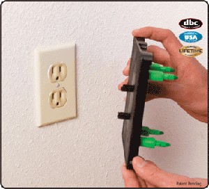 Electrical Outlet Marker