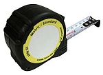 25 ft-7.5m Metric-Standard Tape Measure-Heavy Duty 25mm Blade-each